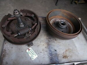 1968 Dodge Coronet 440 4 Door Passenger Front Drum Hub Original Part