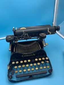 Vintage Corona Model 3 Typewriter Does Need Work Great For Decoration