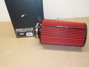 Spectre Hpr9883 Conical Clamp on Cold Air Intake Air Filter 3 5 Flange red