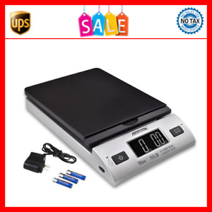 50 Lbs Digital Postal Scale Shipping Electronic Scales Usps Mail Letter Packages