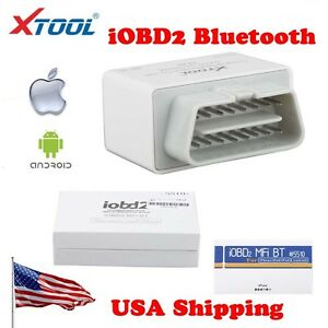From Usa Xtool Iobd2 Mfi Bt Auto Diagnostic Scanner Tool For Iphone Android