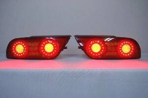Jdm Led Tail Lights For Nissan Silvia S13 180sx 200sx 240sx Hatchback Fastback