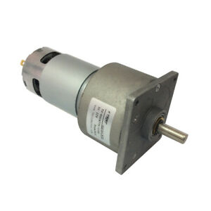 High Torque Parallel Shaft Dc12 24v Geared Motor Electric Gear Reduction Gearbox
