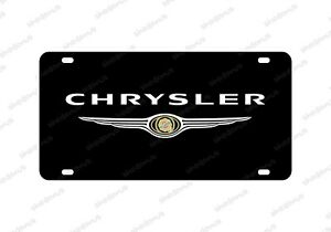 Chrysler License Plate Acrylic Vanity Any Car Tag 300 Series Country Cruiser