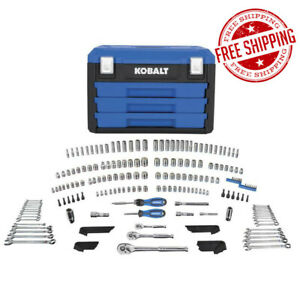 Kobalt 227 piece Mechanic s Tool Socket Set With Case 81239
