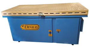 Denray 36 X 72 Wood Sanding Down Draft Table 3672b