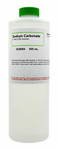 Sodium Carbonate 0 1m 500ml The Curated Chemical Collection