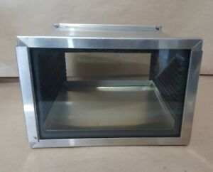 Stainless Steel Vacuum Desiccator Cabinet 9 X 9 X 6 5
