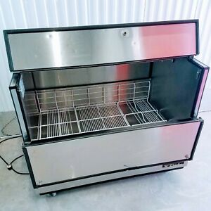 True Tmc 49 s ss hc 49 One Sided Milk Soda Beer Cooler Stainless Steel