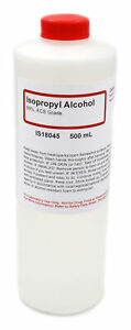 Acs grade Isopropyl Alcohol 99 500ml The Curated Chemical Collection
