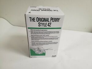 New 50pr Box Of Ansell Original Perry Style 42 Latex Surgical Gloves Size 7 5