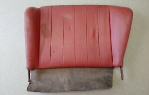 Nice Used Original Genuine Porsche 356b Coupe Left Rear Seat Back Red 17