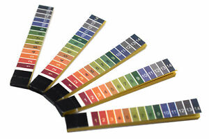 Ph Test Paper 100 Strips Ph Range 1 To 14 In Plastic Container Eisco Labs