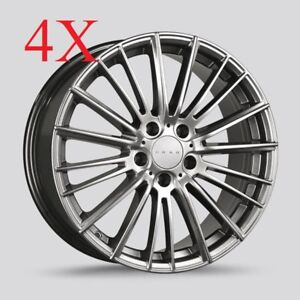 Drag Wheels Dr 71 17x8 5 114 40 Hyper Black Rims For Acura Tl Ilx Rsx Cl Type S