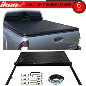 Fits 83 11 Ford Ranger 6ft Short Bed Lock Soft Roll Up Tonneau Cover