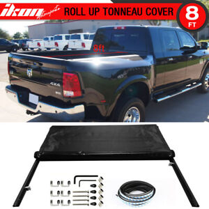 Fits 02 17 Dodge Ram 1500 8 Feet Long Bed Lock Soft Roll Up Tonneau Tonno Cover