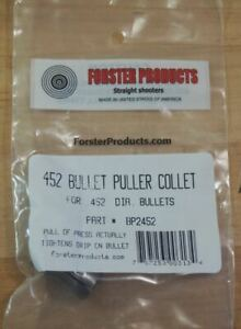 Forster Bullet Puller Collet .452-(BP2452) NEW in Package