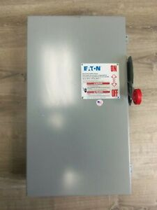 New Eaton Cutler Hammer Dh364ugk Disconnect Safety Switch 200a 600v 3p Type 1