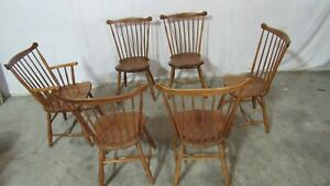 Stickley Dining Room Chairs Cherry Windsor
