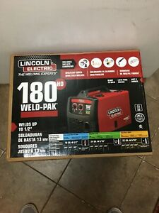 Lincoln Electric Weld Pak 180 Hd Amp Mig Wire Feed Welder K2515 1