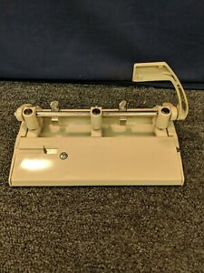 Foothill 310 Paper 3 Three Hole Punch Heavy Duty Beige Adjustable Work Office
