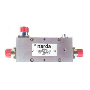 Narda 99899 Commercial Use High Power Directional Coupler Model 3151 10
