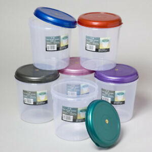 Food Storage Container Round 3qt Case Of 48