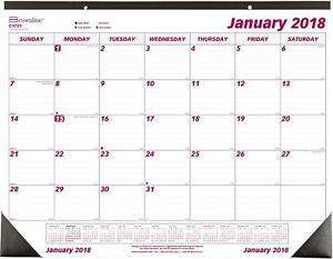Monthly Desk Calendar 12 Month Jan dec 22 3 4 x1 Case Of 7