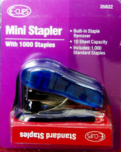 Mini Stapler With 1000 Staples Set Case Of 48