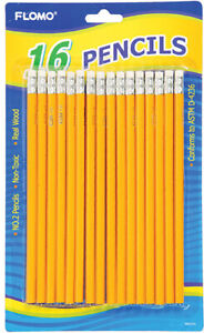 16 Count No 2 Yellow Pencils Case Of 48