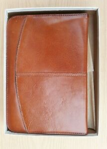 Vintage Bond Street Ltd Leather 1989 Weekly And Monthly Planner