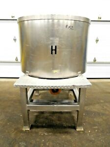 Mo 2998 Stainless Steel 200 Gallon Mixing Feeder Tank