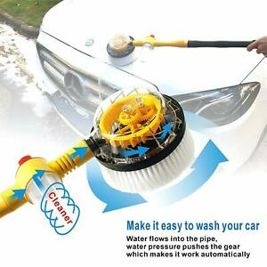 Uanlauo Car Wash Brush Non electric Automatic 360 Degree Rotating Microfiber