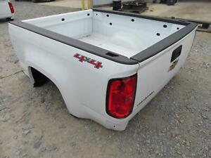 2016 2018 Chevrolet Colorado Extended Cab Truck Bed White
