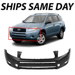 New Primered Front Bumper Cover For 2006 2007 2008 Toyota Rav4 To1000319 06 08