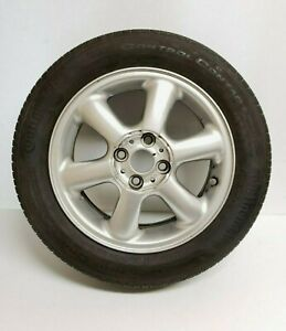 Mini Cooper Alloy Wheel 6 spoke With Tire 185 60 R15 Oem 36116769405