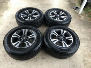 Toyota Tacoma Trd Sport 17 Inch Oem Wheels Rims With Tires Less Than 20k Miles