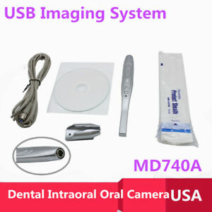Dental Intraoral Oral Camera Usb Imaging System 50 Disposable Sleeves Usa Sale