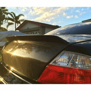 Flat Black 982 Itl Type Rear Trunk Spoiler Wing For 2001 2003 Acura Cl Coupe