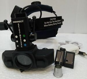 Wireless Indirect Ophthalmoscope Optometry With 90 D Lens