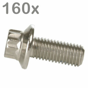 160 Split Rim Bolts M7x16 Stainless Steel For Bbs Rial Schmidt O z Dynatech Ca