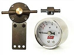 Lc Engineering 1035056 K Fuel Pressure Regulator Gauge Kit Low Pressure Carb O