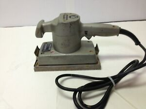 Porter Cable Half sheet Finishing Sander Model 505 Type 1 Made In The Usa