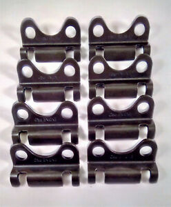 Small Block Chevy 305 327 350 400 Raised Steel Guide Plates 5 16 8 Ea New