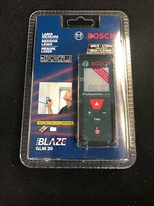 Bosch Glm 30 100ft Laser Measure New In Sealed Factory Packaging