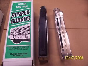 652q149 Fits Dodge Full Size Pickup Or Ramcharger 1991 93 Chrome Bumper Guards