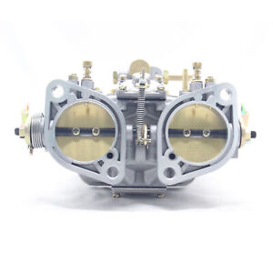 New 48 Idf Carburetor Carb For Solex Dellorto Weber Empi 48mm W Air Horns useful