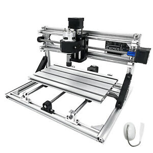3 Axis Cnc Router Kit 3018 Engraver 2020 Aluminium Profiles T8 Screw Machine