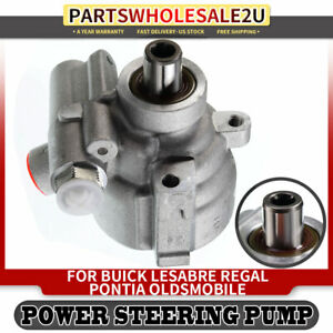 Power Steering Pump For Buick Lesabre Regal Oldsmobile Pontiac W O Pulley 20 895