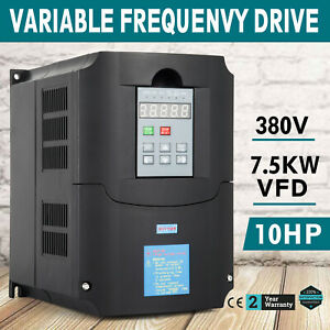 7 5kw 380v Variable Frequency Drive Vfd Single Phase Low output Close loop